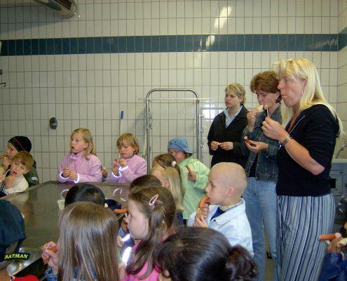 Der Kindergarten zu Besuch